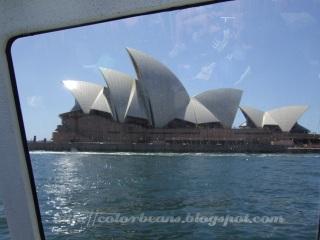 搭ferry看Opera House