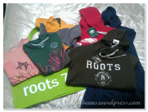 roots-outlets 一堆Roots掃來的戰利品~