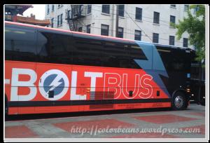 Bold Bus停在King Street Station,正好就在Chinatown對面