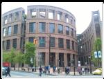 羅馬競技場造型的Vancouver Public Library