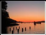 Barnet Marine Park 也可以欣賞到美麗的晚霞