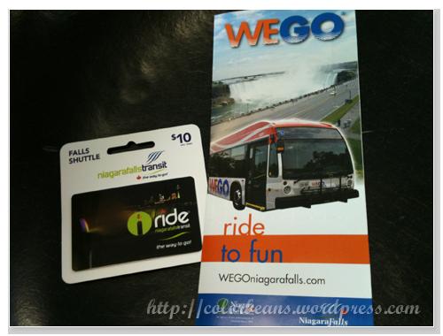 WEGO的車票和地圖
