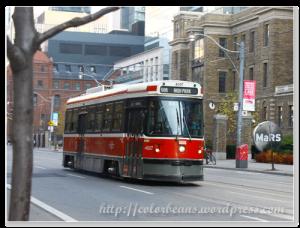 Toronto的Streetcar(街車)