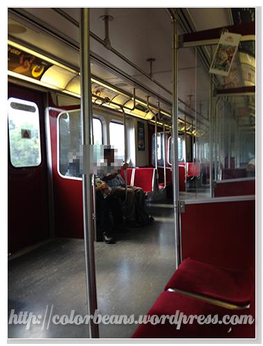 這就是TTC Subway的舊車