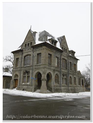 Niagara-Falls 位於Park Street上的一棟老建築
