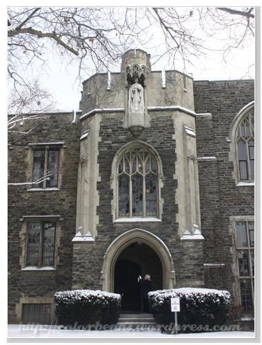窗戶很漂亮的建築物是屬於Victoria University