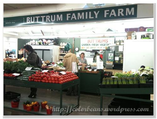 很多home grown的新鮮蔬果唷