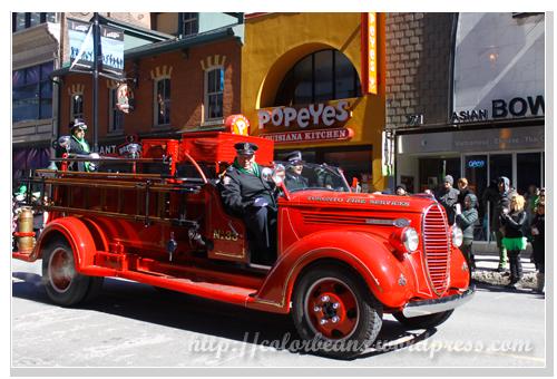 古董消防車