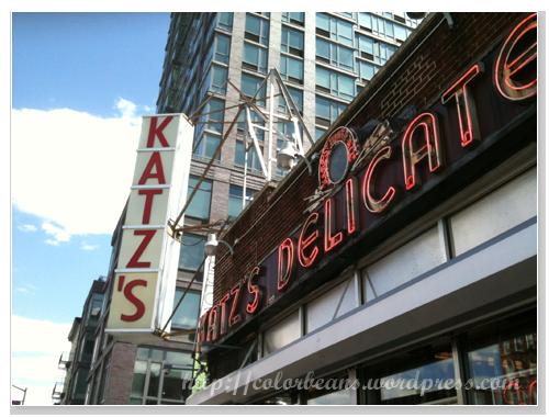 肉超多的三明治 - Katzs Delicatessen