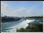 美國端的尼加拉瀑布(Niagara Falls)