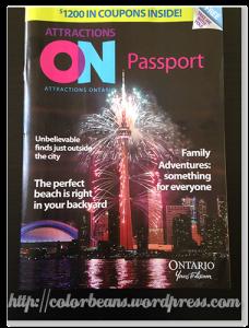 附折價券的景點介紹刊物ON Passport