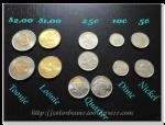 各種加拿大幣別的銅板~