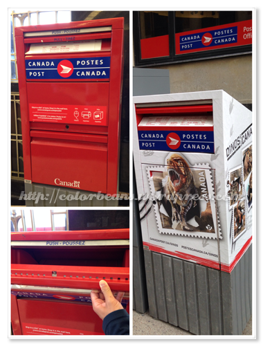 加拿大郵筒