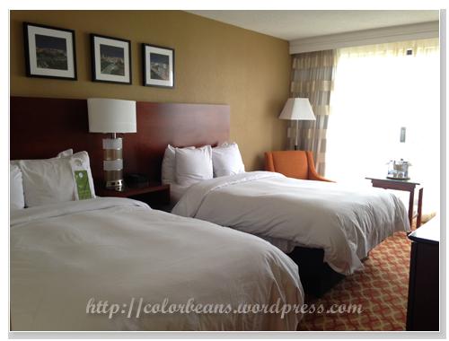 兩張雙人床(double beds)