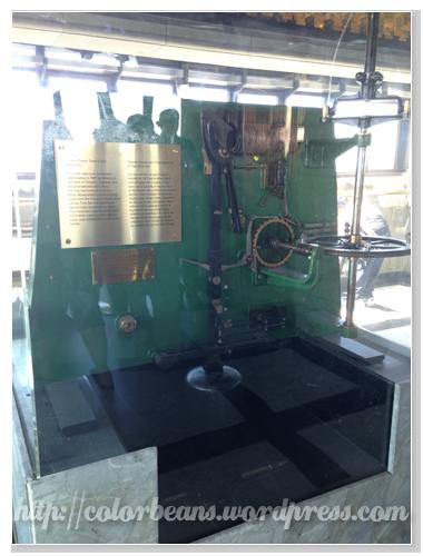 舊的鐘的機械