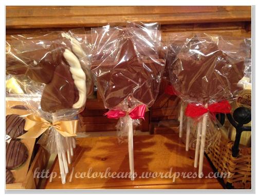 巧克力馬、星星和楓葉!!