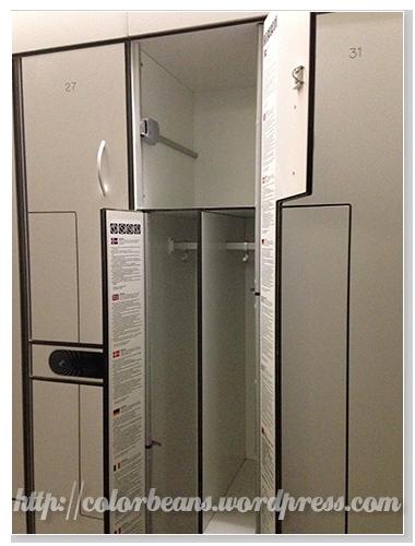 容量很夠的置物空間