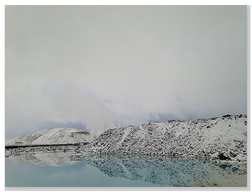 藍湖外的景觀