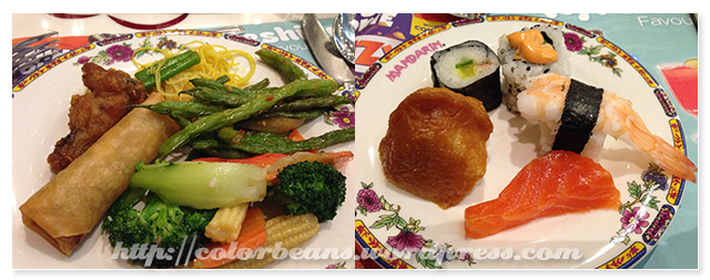 有日本料理和老外最愛的中華料理
