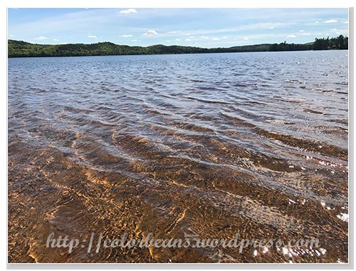 湖水好清澈呀~