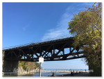 Rouge River和Lake Ontario交匯處