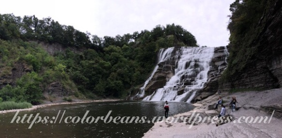 熱門景點 Ithaca Falls