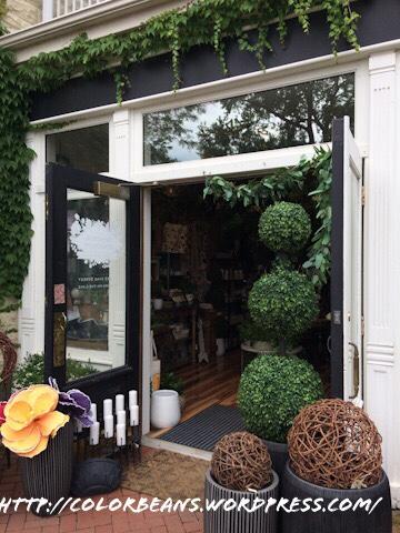 路邊的小花店