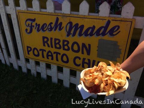 現切現炸Ribbon Potato Chips