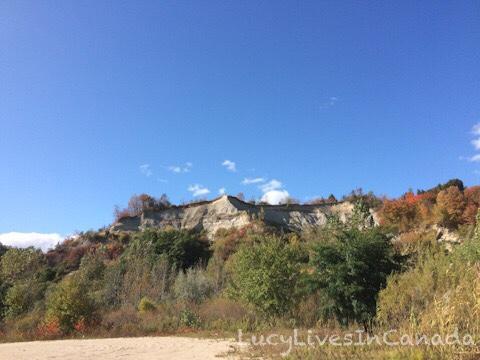 後方就是懸崖區了