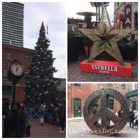 聖誕樹、星星和和平標誌的藝術品