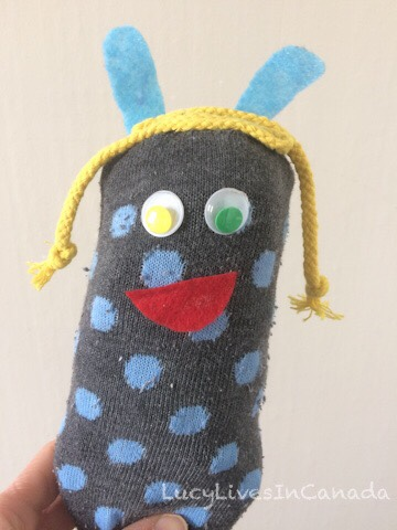Silly sock toy