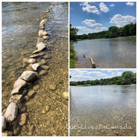 Grand River河水很清澈