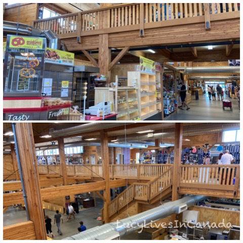Farmers' Market是木造建築