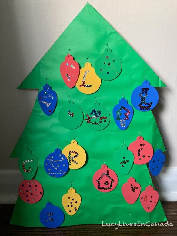 DIY 紙板聖誕樹